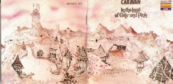 Caravan - In the land of grey and pink front and back