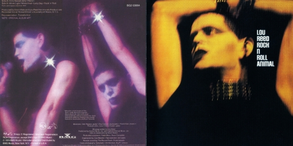 Lou Reed - Rock ´N´ Roll Animal - Front